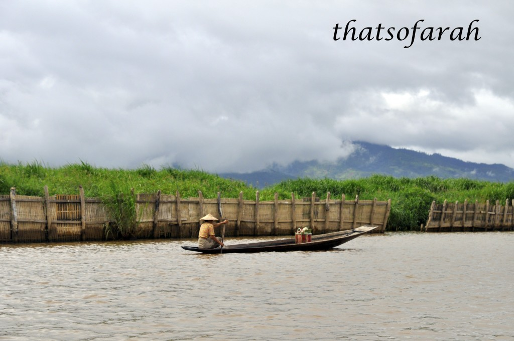 Boat at Inle Lake