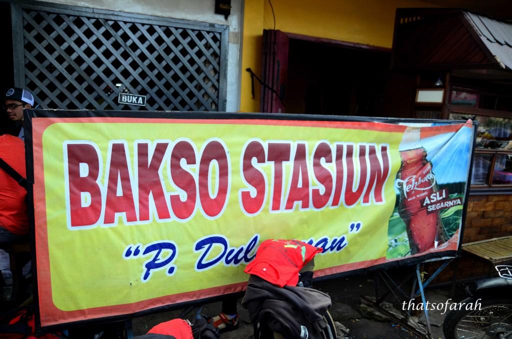 Bakso Stadiun Malang