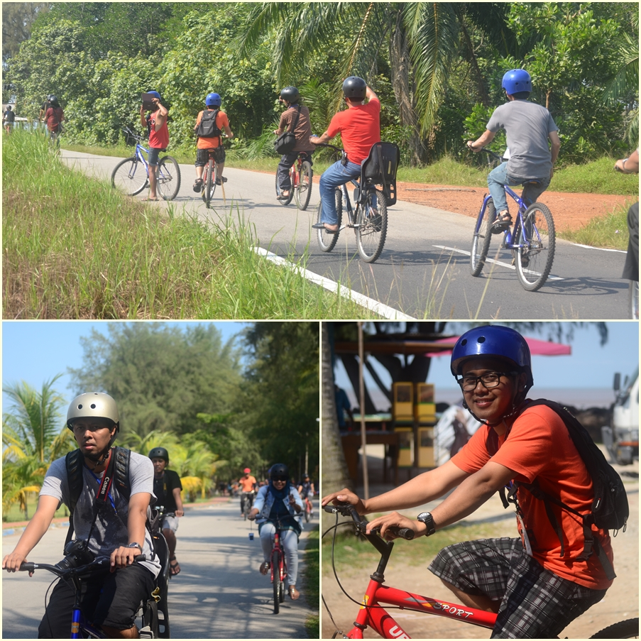 Cycling Tour around Golden Palm Tree