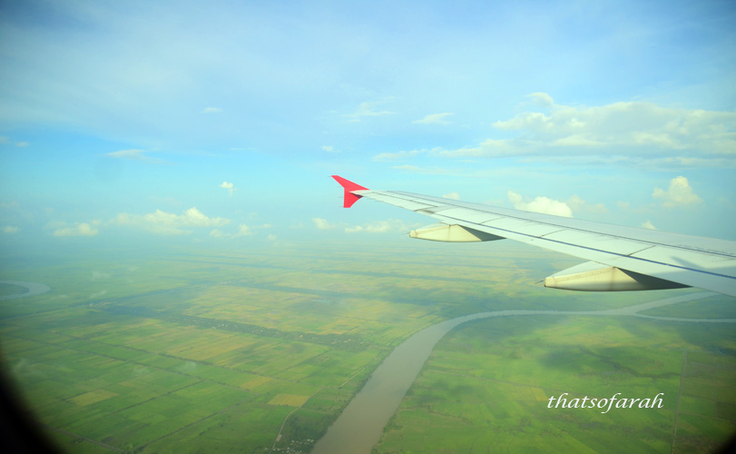 Flight to Palembang