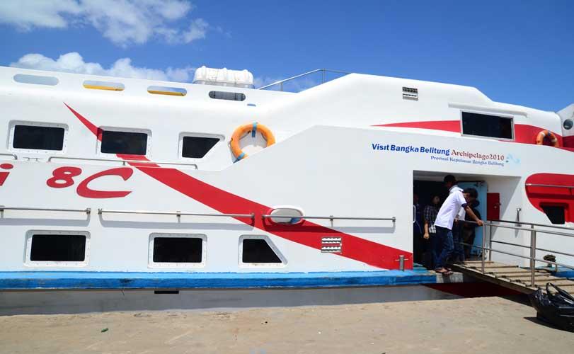 Kapal Express KM Bahari Pangkalbalam to Tanjung Pandan