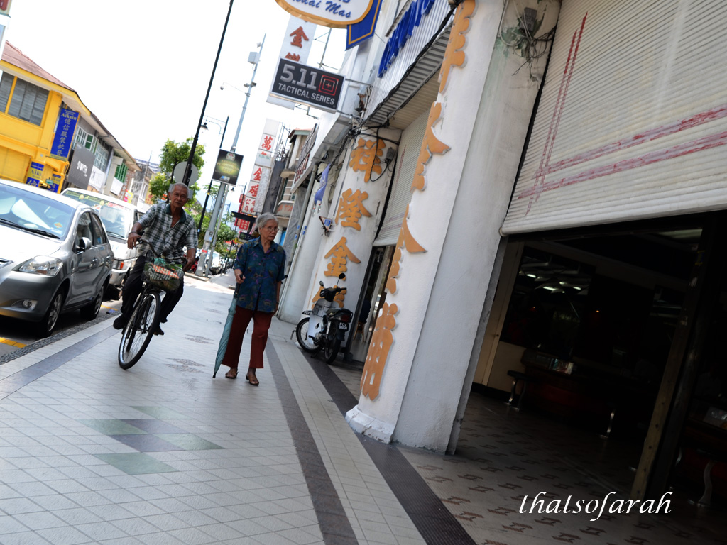 Old folks of Penang