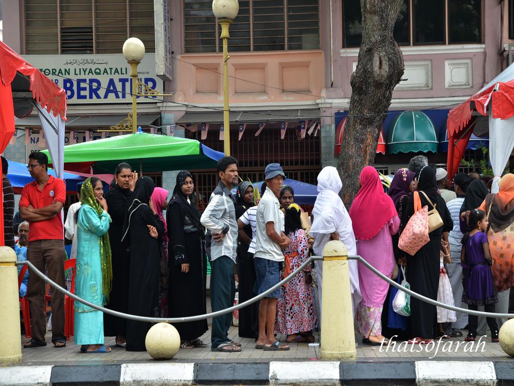 Free Beriani in Penang