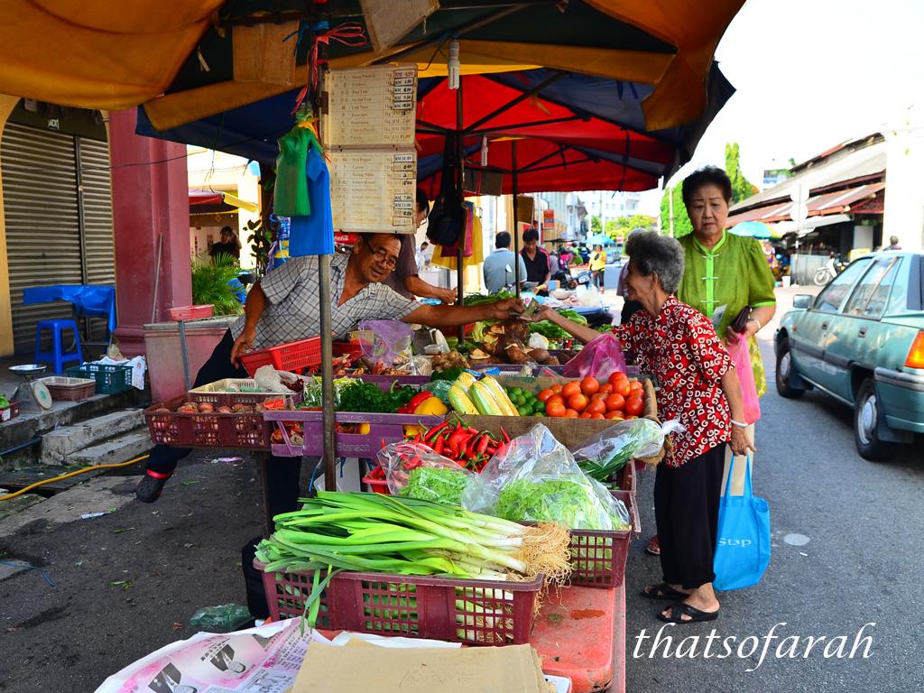 Lebuh Kimberley market