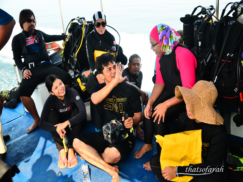 Media Team - Start in Tioman