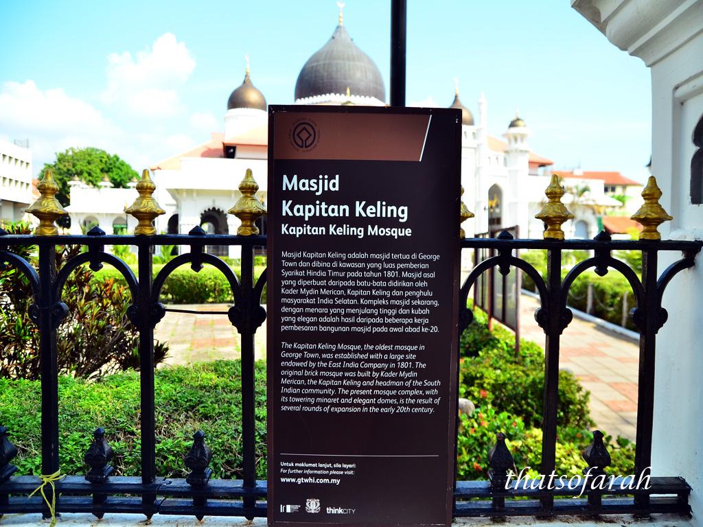 Masjid Kapitan keling