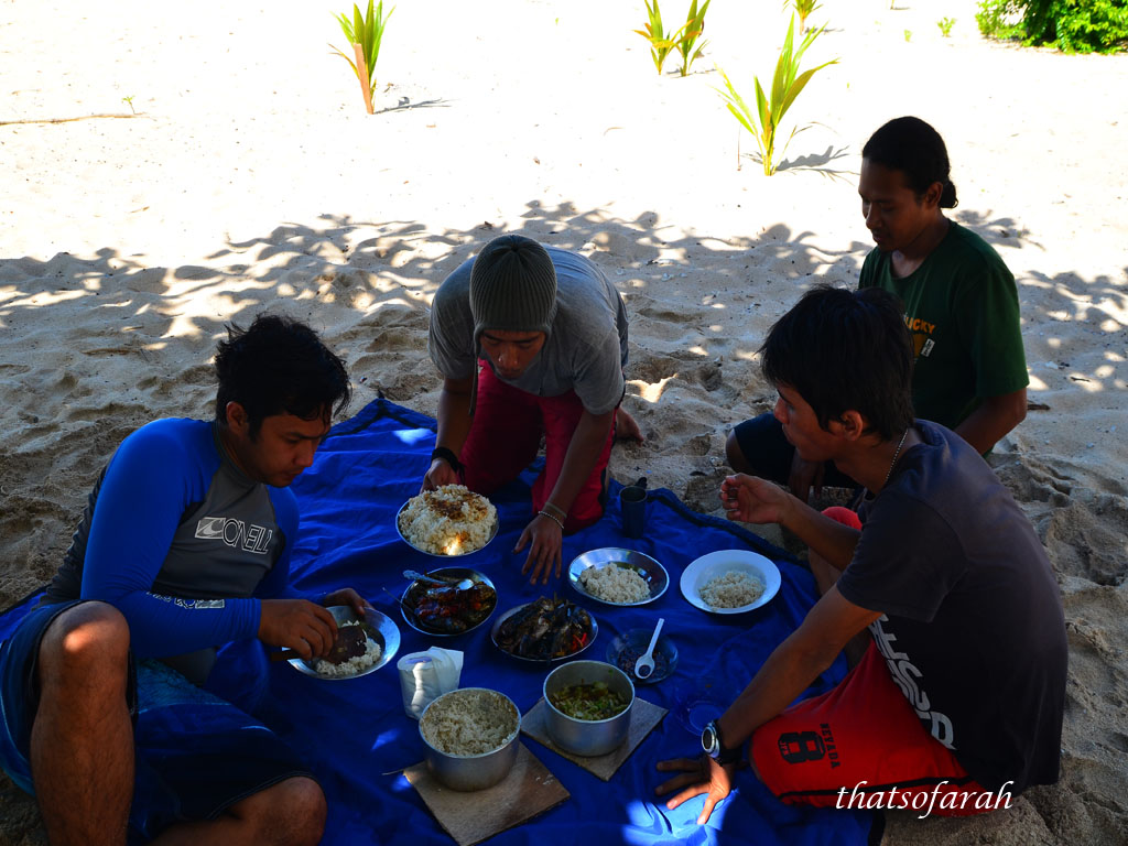 Picnic at Liukang Island