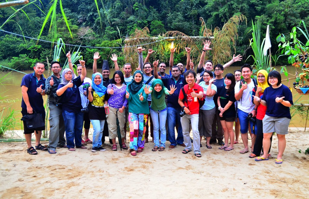 Group photo at Taman Negara