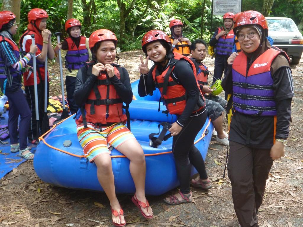 White Water Rafting Sungkai