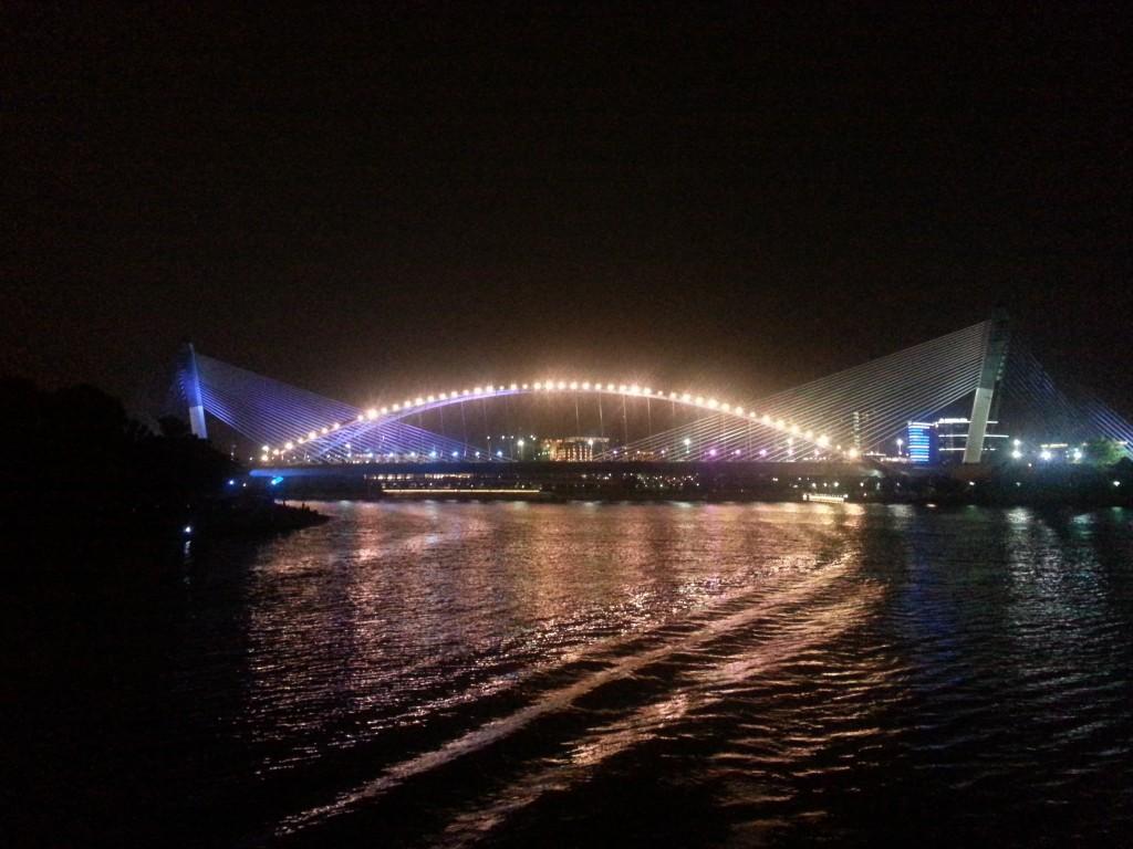 Putrajaya Night view from Cruise Tasik Putrajaya