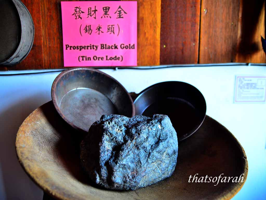 Tin Ore Display