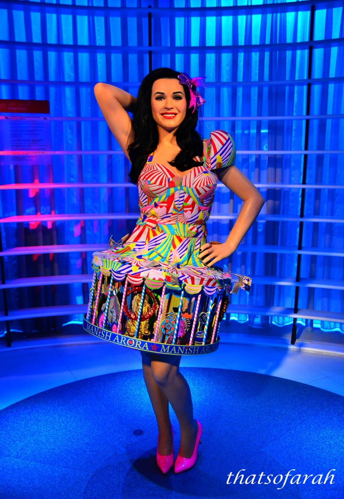 Katy Perry at Madame Tussauds Bangkok