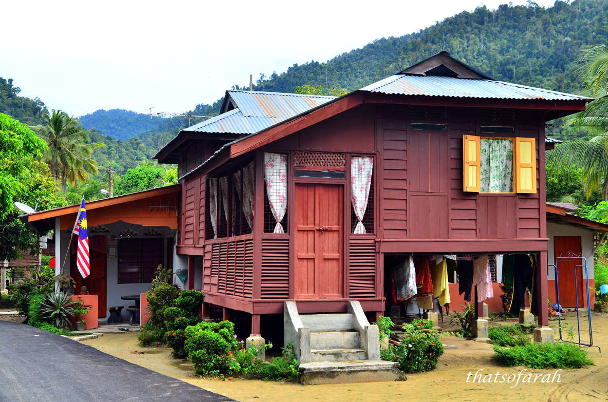 Homestay kg beng for Design homestay