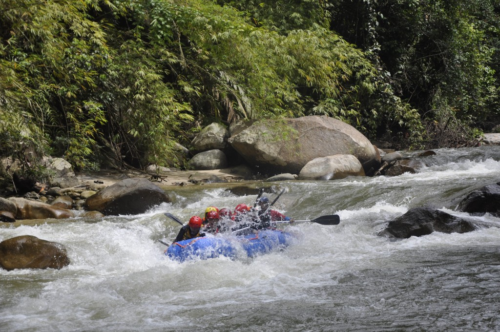 White Water Rafting Gopeng