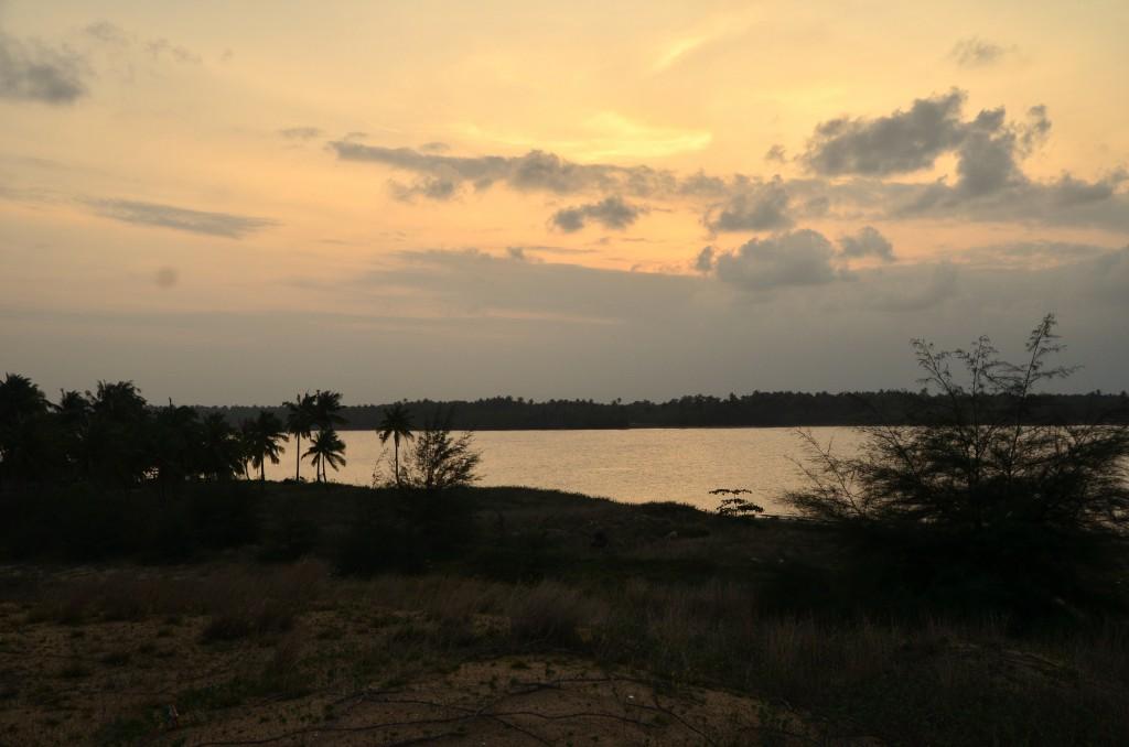 Sunset in Kelantan