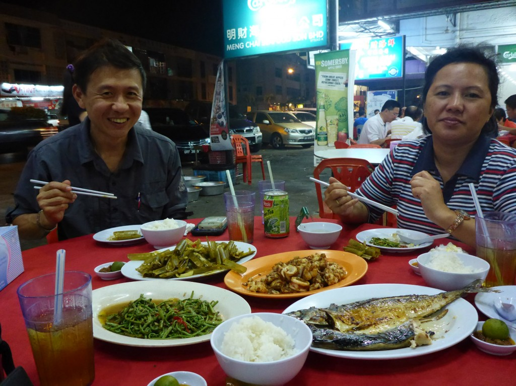 Dinner at Meng Chai Restaurant