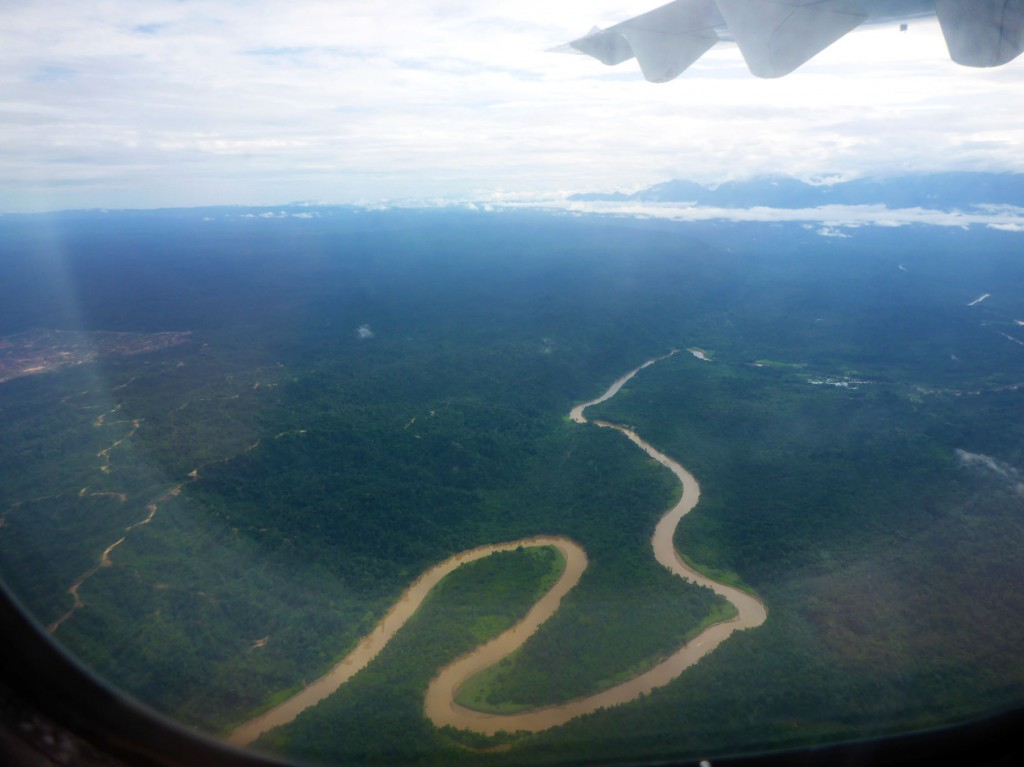 Heading to Mulu