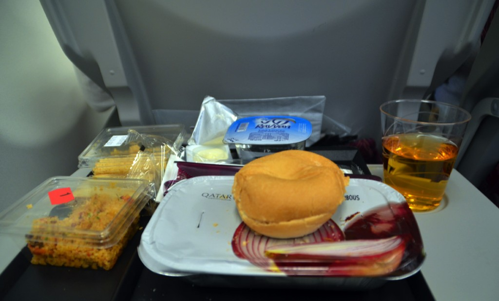 Qatar Airways In-flight Meal