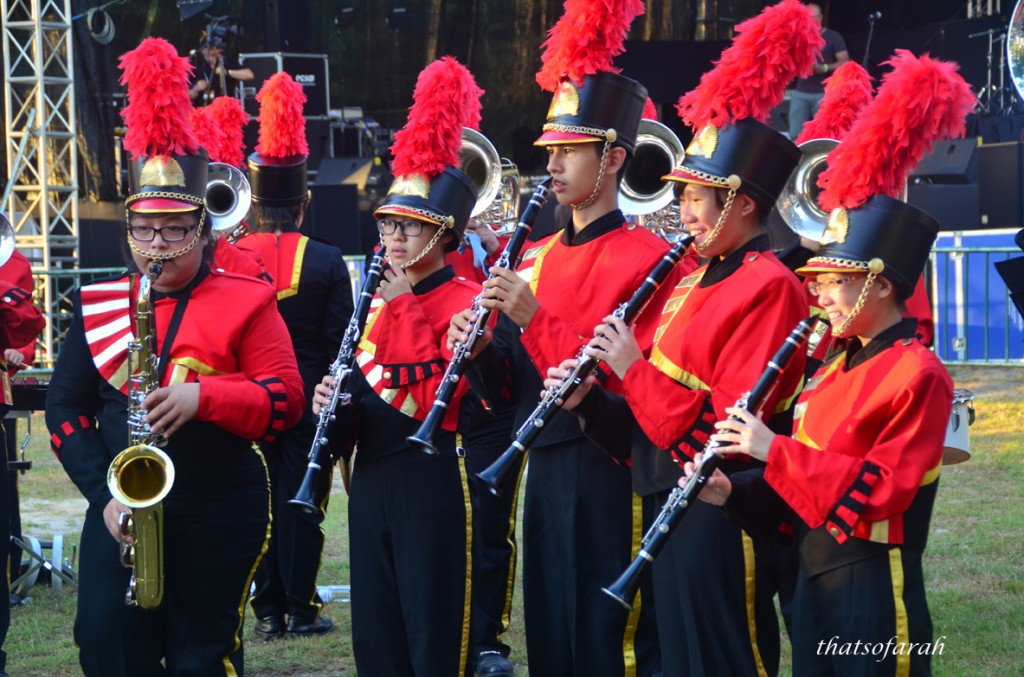 Riam Road Secondary School Bruin's Marching Band