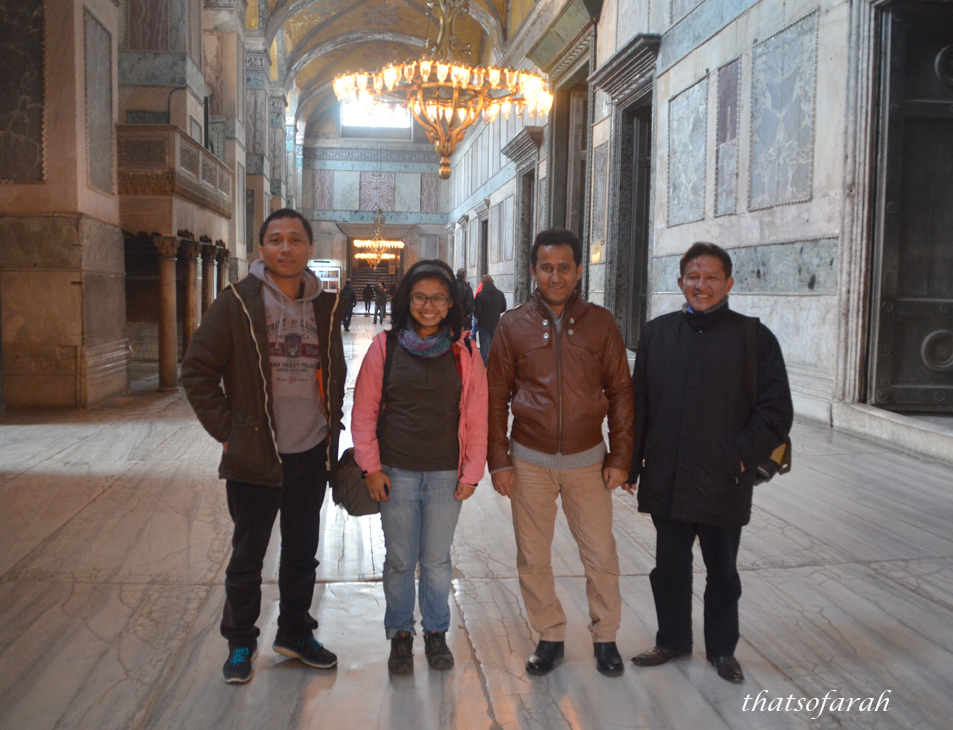 Inside Narthex, Hagia Sophia