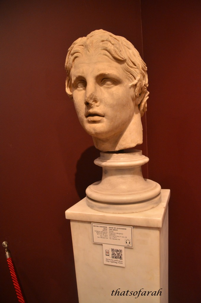 Head of Alexander Sarcaphagos