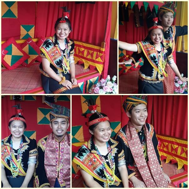Dusun Lotud Traditional Costume