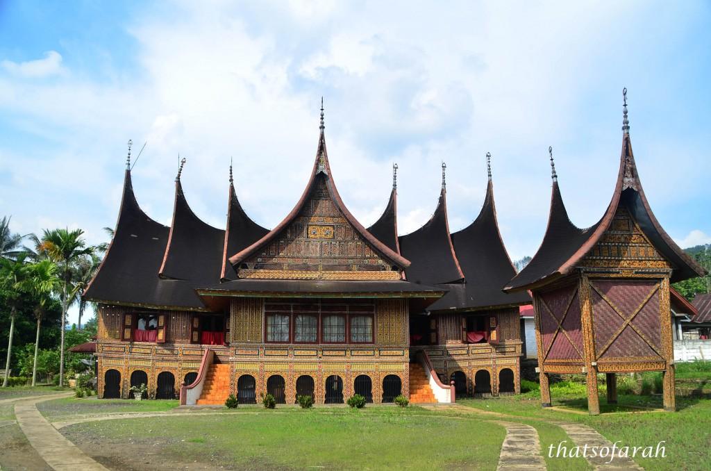 Rumah Gadang  Aminuzal Amin Datuk Raja Batuah