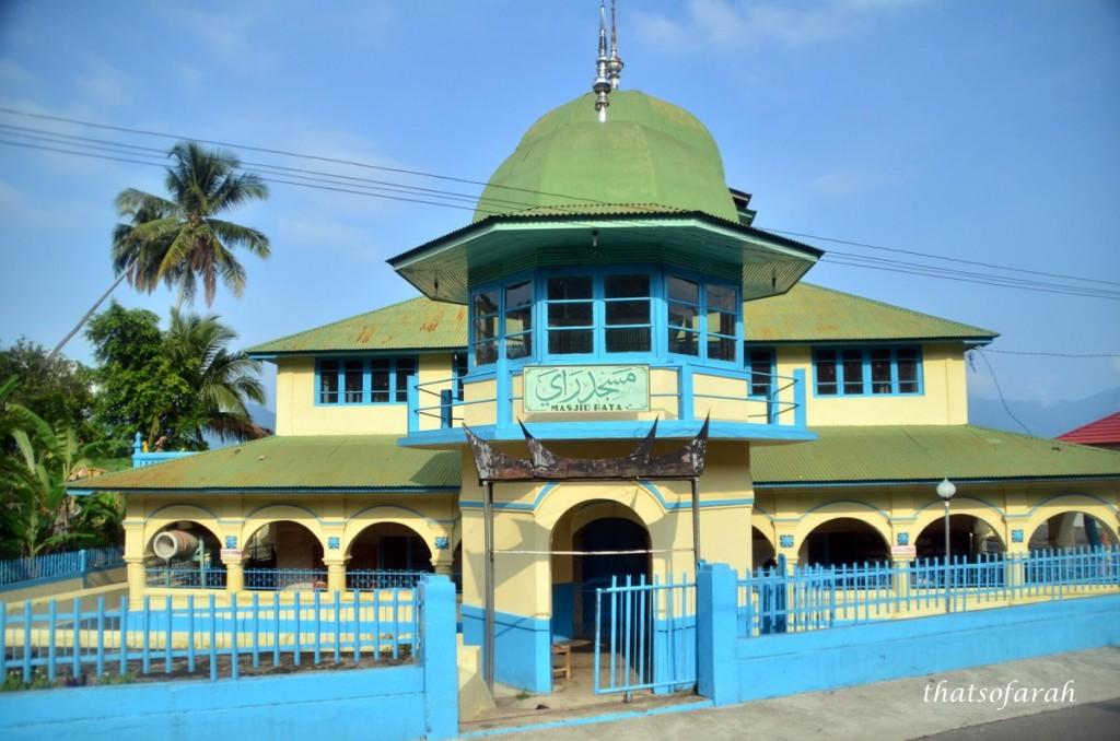 Masjid Raya Lake Maninjau