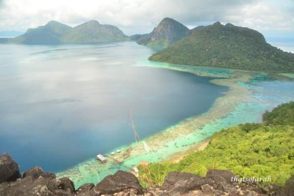 Bohey Dulang, Mantabuan & Tatagan Island