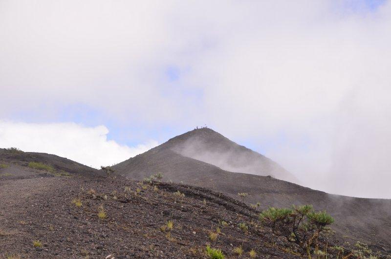 Gunung Tambora peak