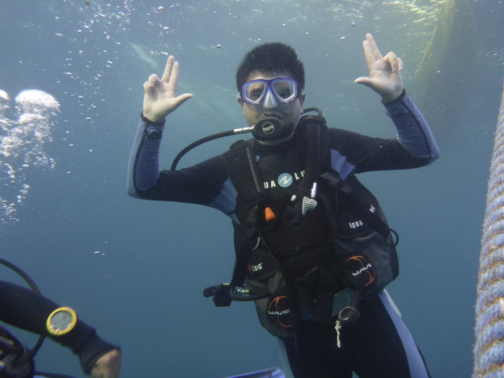 Diving at Malapascua Island