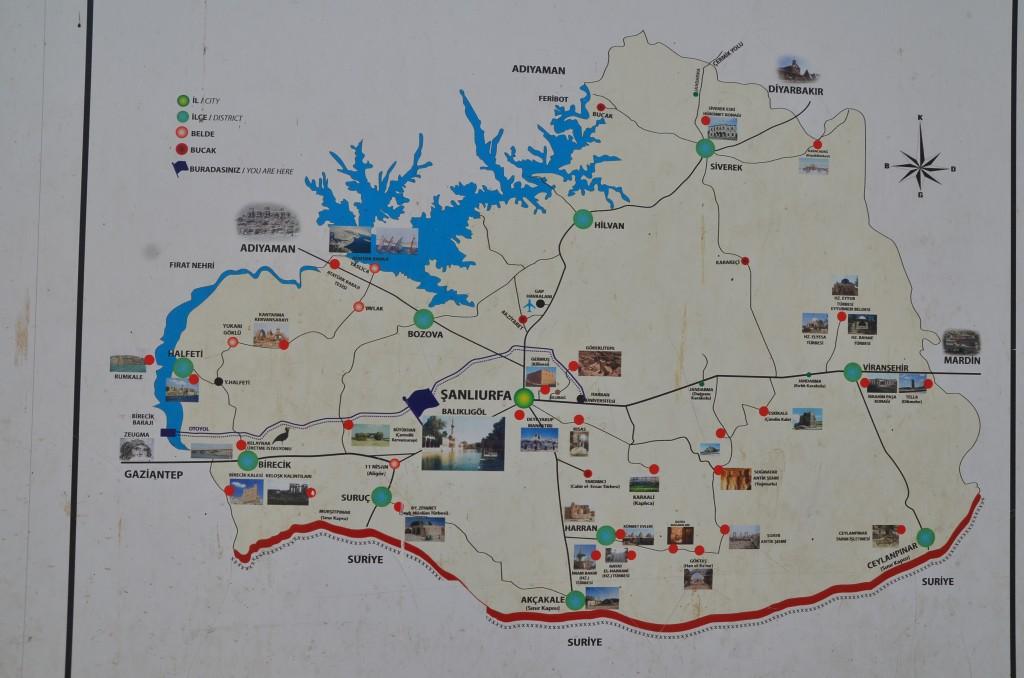 Urfa Map