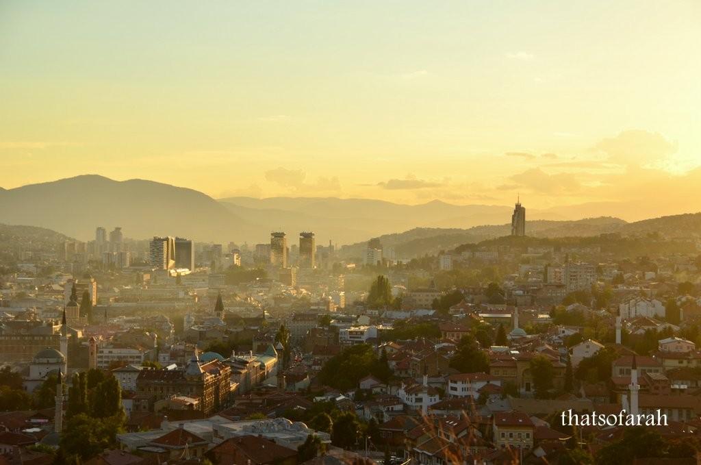 Sarajevo dusk