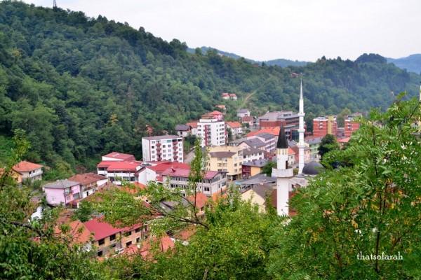 A ghost town: Srebrenica 2015