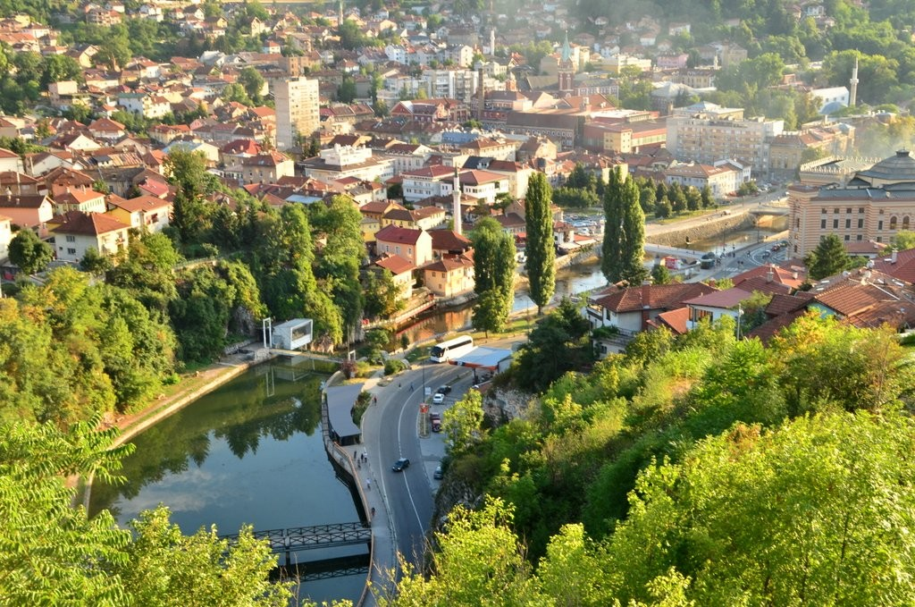 Sarajevo from Yellow Bastion