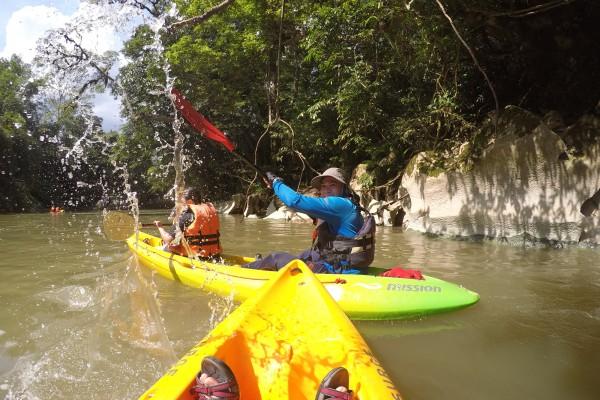 Tsdayout Selangor Meets Sarawak :Semadang Kayaking
