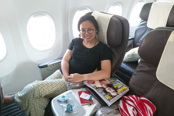 Review: SilkAir Business Class (Kochi - Singapore)