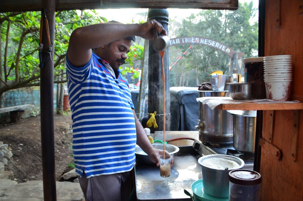 Tea Stall at Periyar Tiger Reserve