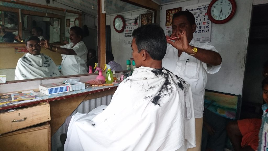 Barber Shop at Munnar