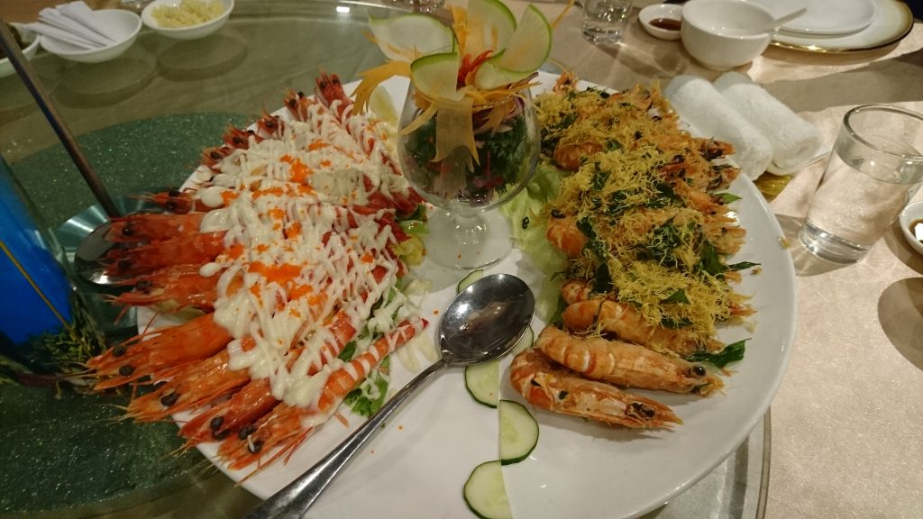 Unique Seafood Prawns