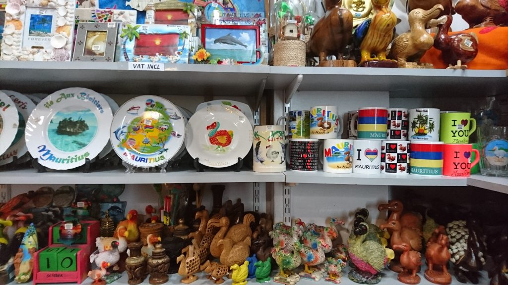 Souvenirs in Mauritius