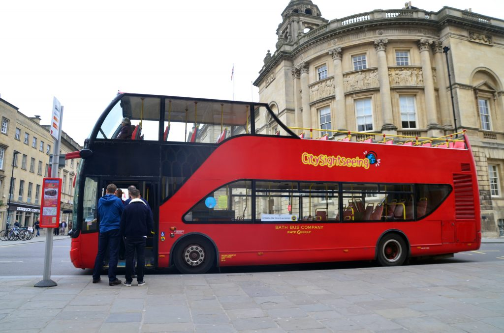 City Sightseeing Bus in Bath