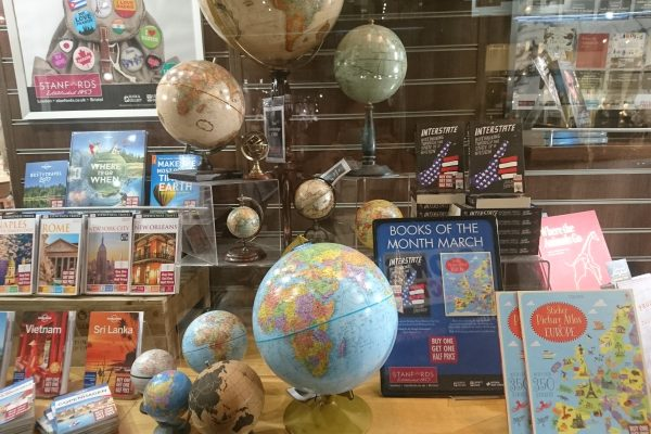 Love at First Sight at Stanfords London Travel Bookshop