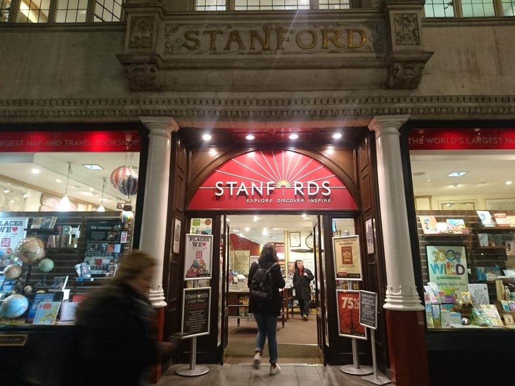 Stanfords London Travel Bookshop