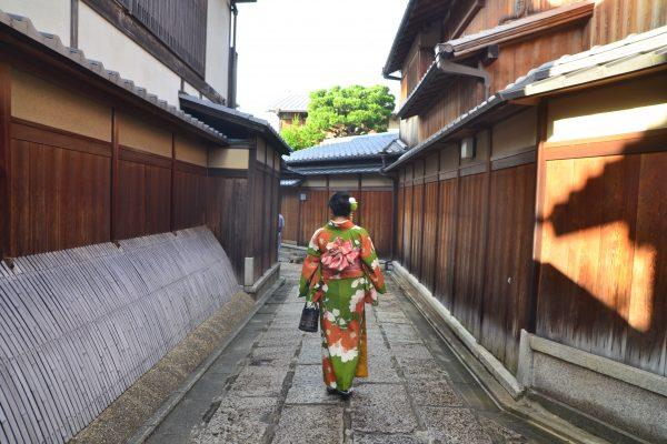 Kimono Dressing in Kyoto with Kyokomachi Kimono Rental